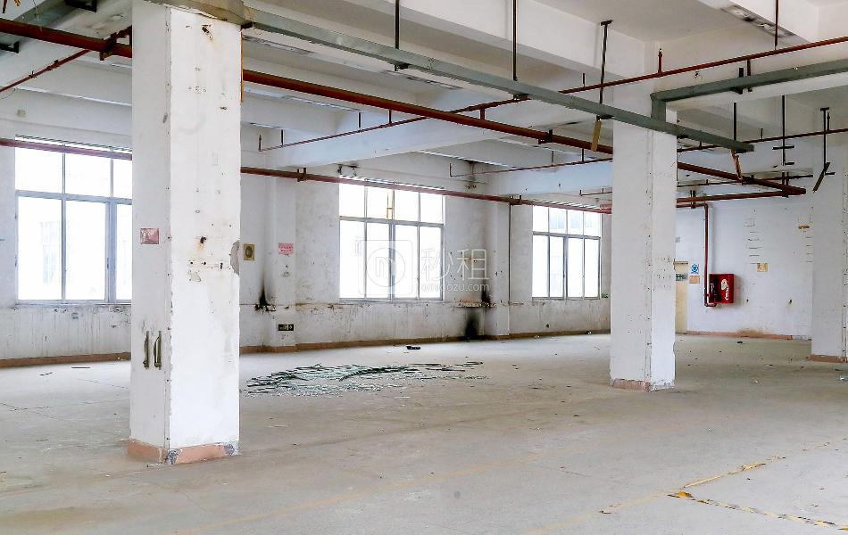 福海信息港写字楼出租110平米毛坯办公室60元/m².月