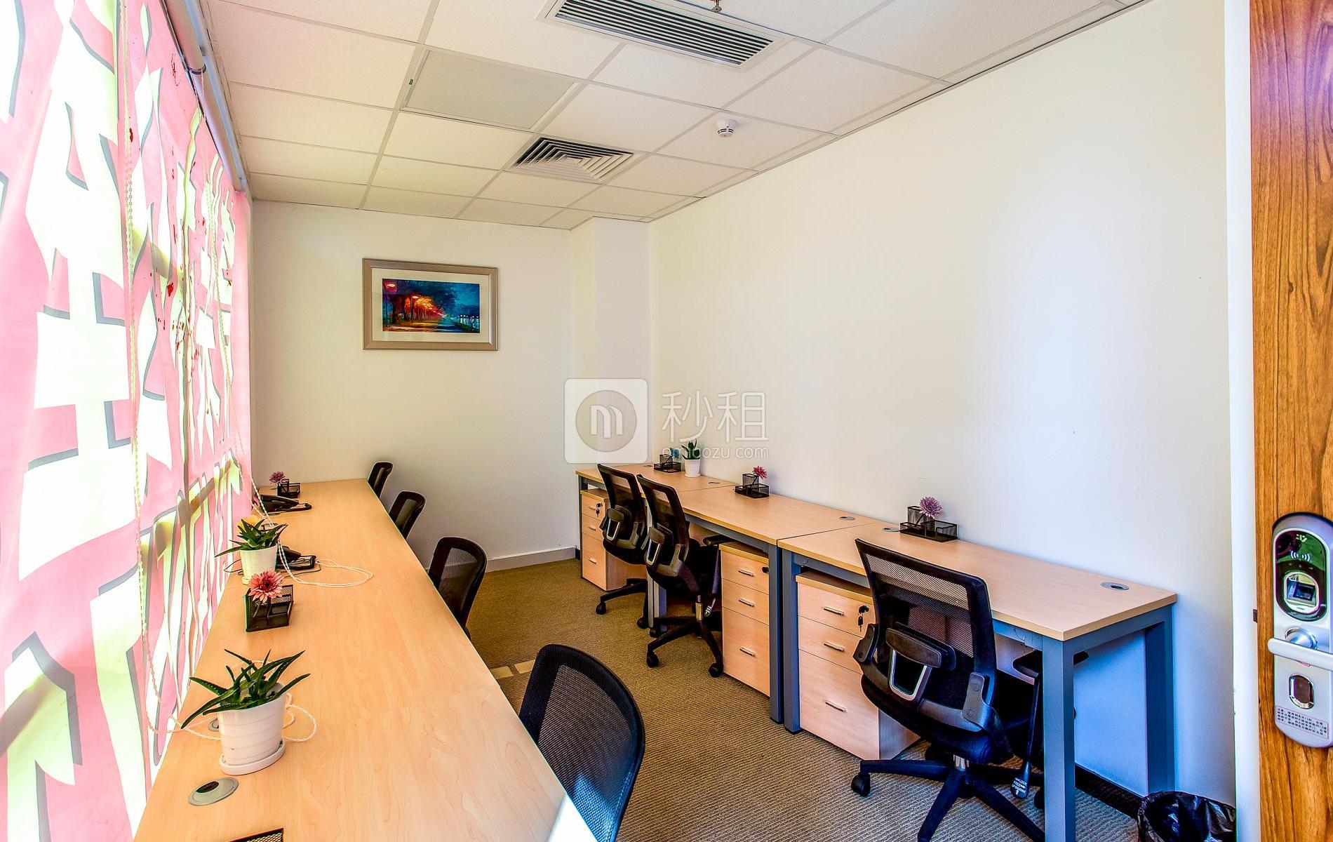 创新科技广场一期-服客师商务中心写字楼出租22平米精装办公室5600元/间.月