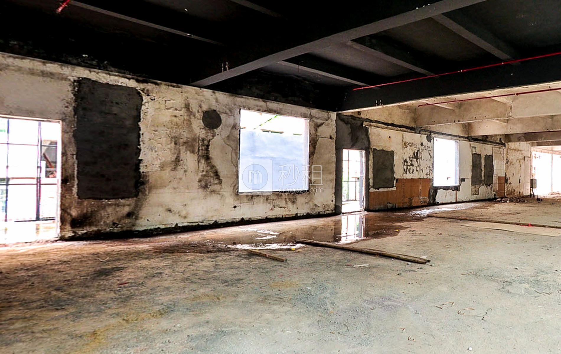 博园大厦写字楼出租174平米毛坯办公室70元/m².月