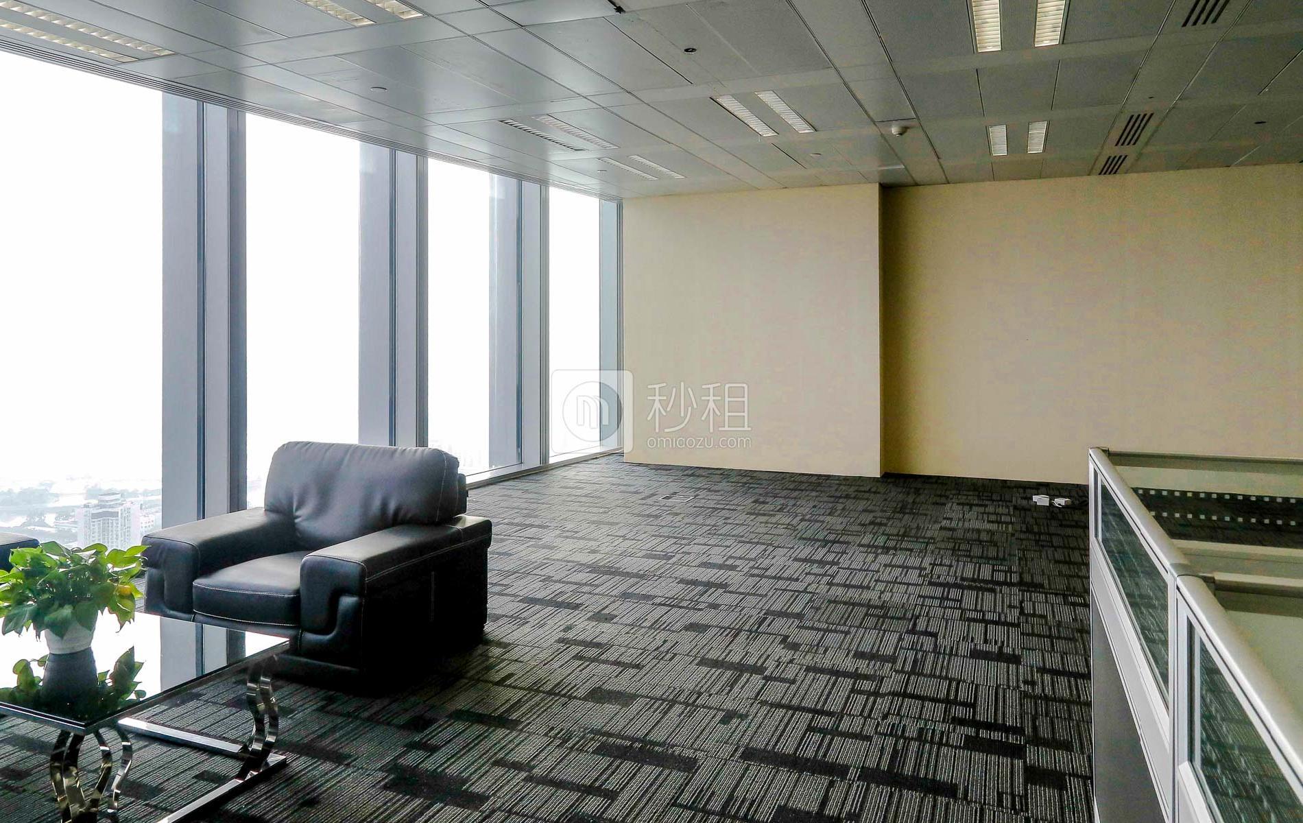 京基100大厦写字楼出租830平米豪装办公室290元/m².月