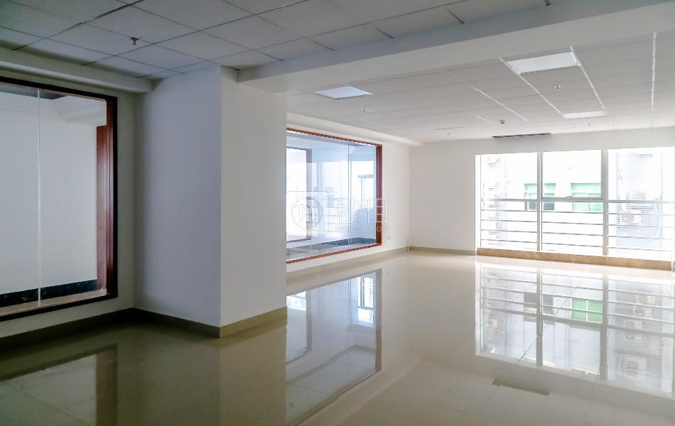 华丰金融港写字楼出租134平米简装办公室100元/m².月