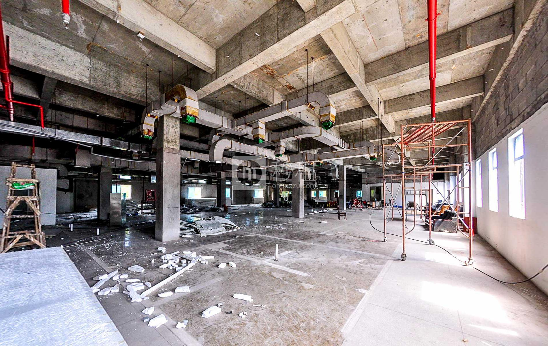 贝壳创新写字楼出租1417平米毛坯办公室100元/m².月