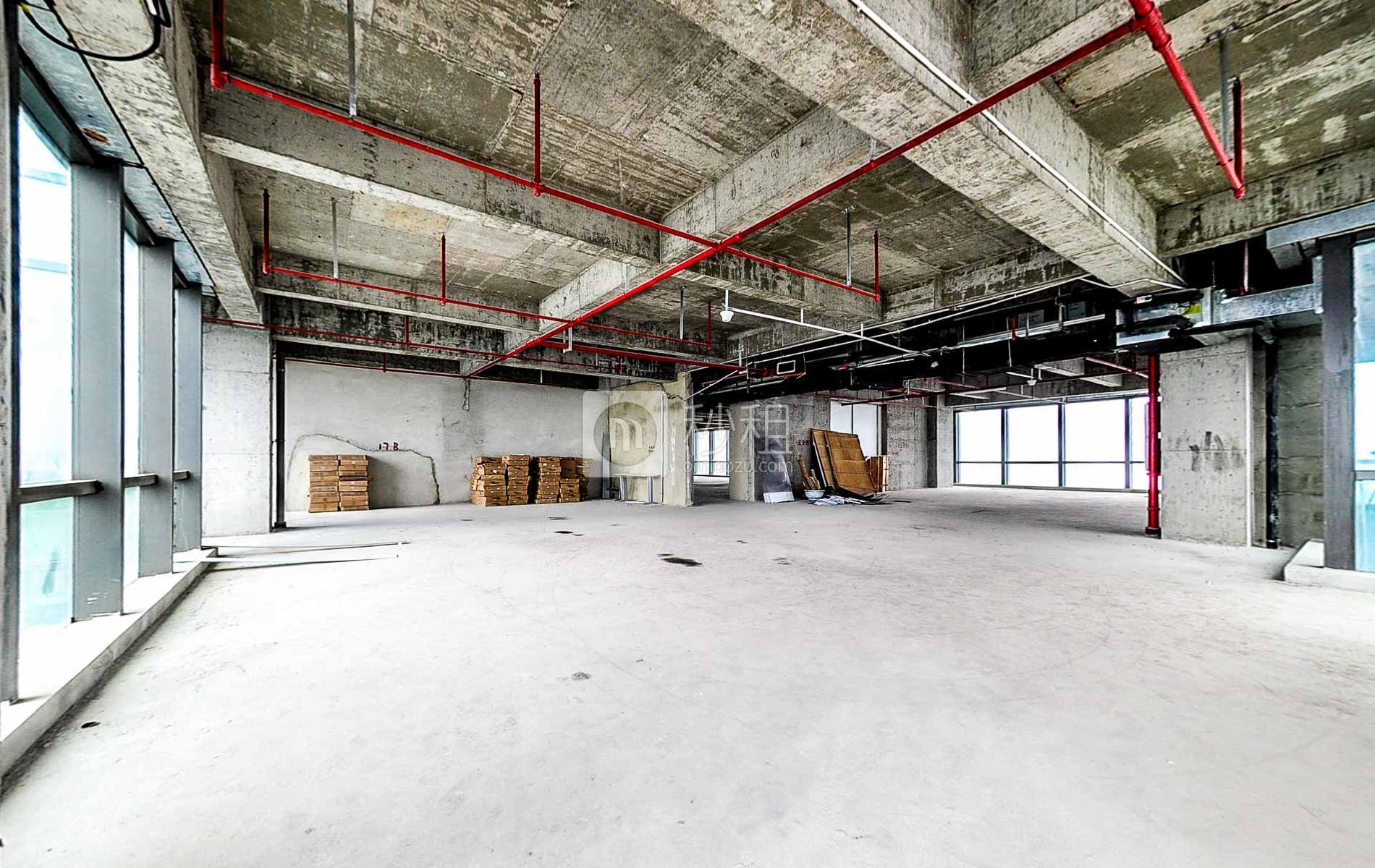 波顿科技园-万科云创写字楼出租340平米毛坯办公室120元/m².月