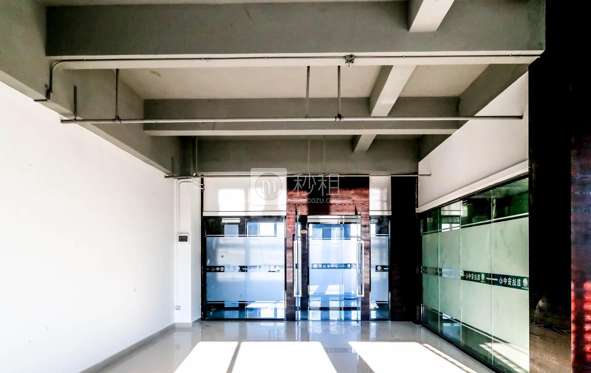 凯达安中心写字楼出租186平米简装办公室48元/m².月