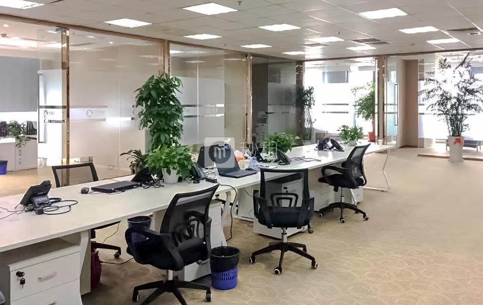 诺德金融中心写字楼出租376平米精装办公室258元/m².月