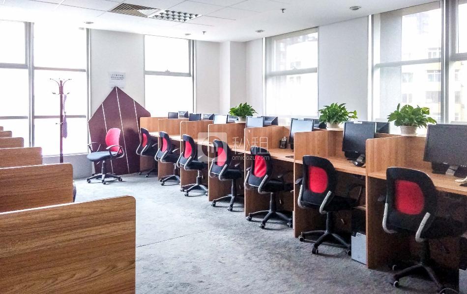 金地中心写字楼出租226平米毛坯办公室17元/m²/天