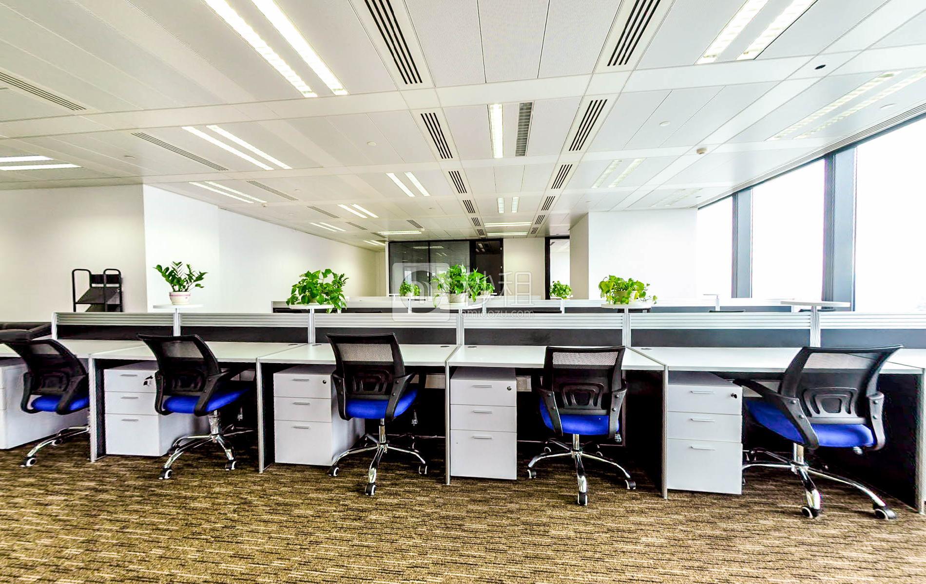 京基100大厦写字楼出租610平米豪装办公室230元/m².月